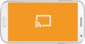enviar pelis al smart tv con chromecast