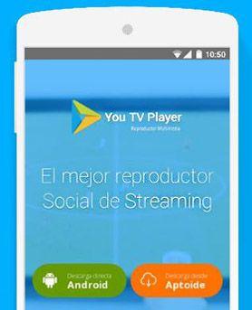 descargar you tv player gratis